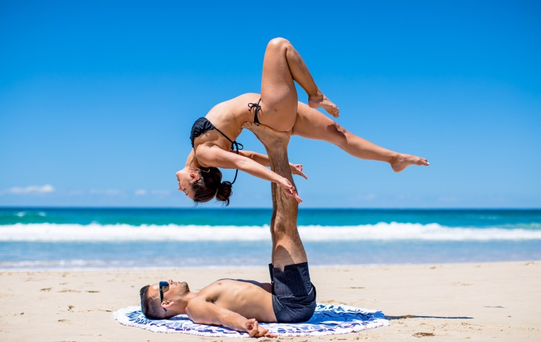 Things that Happen in Acro Yoga that aren't the poses